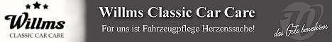 Willkommen bei der Willms Classic Car Care GmbH